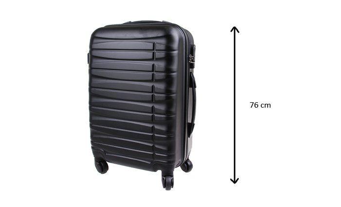 Kufr velký černý