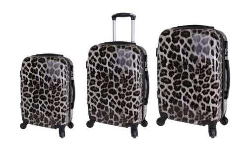 obrázek Sada 3 kufrů (Leopard)