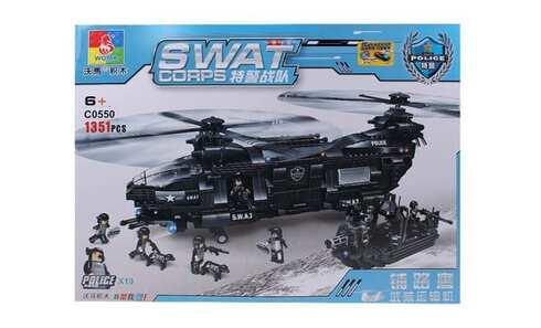 obrázek Stavebnice SWAT Vrtulník