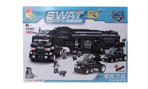 obrázok Stavebnica SWAT Kamión