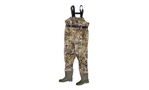 obrázek Brodící kalhoty světlý maskáč 43