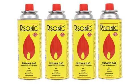 obrázok Plynové kartuše RSONIC 4x