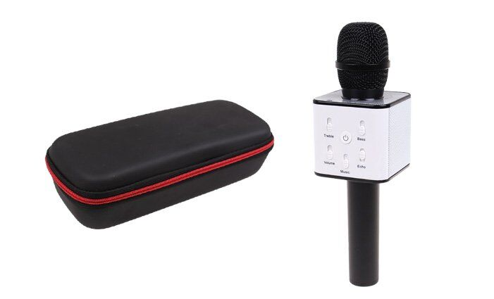 Karaoke mikrofon Q7 s pouzdrem