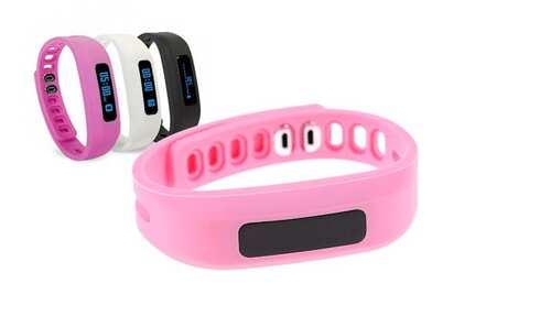 obrázek Fitness náramek růžový