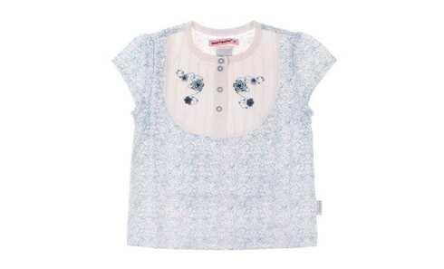 obrázok Dievčenské kvetinové tričko veľ.74
