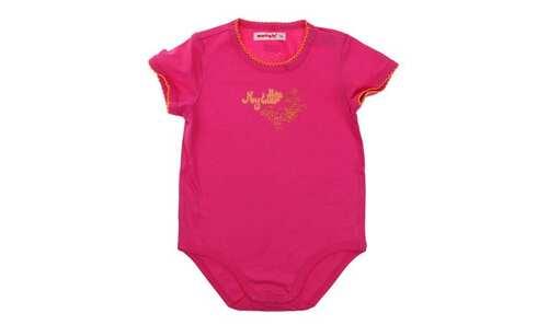 obrázok Dievčenské dojčenské body ružové 80