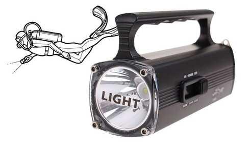 obrázok Potápačská svietidlo IPX8