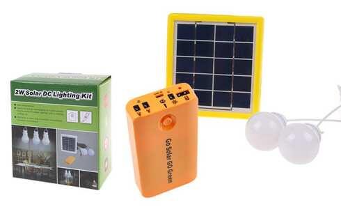 obrázek Solární LED světla s powerbankou