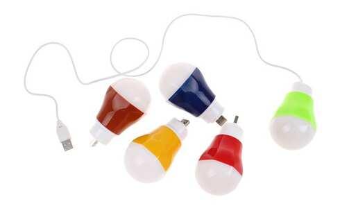 obrázek LED USB žárovka