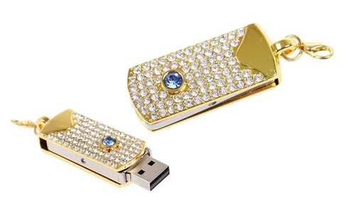 obrázok Flash disk USB 8 GB - modry kameň