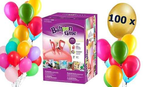obrázek Helium 450l + mix 100 balónků