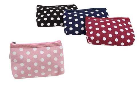 obrázek Kosmetická taška s puntíky