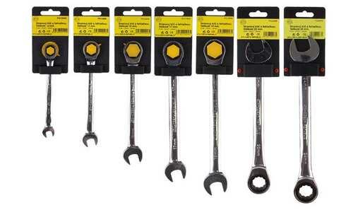 obrázek Sada 7 klíčů s řehtačkou ATX