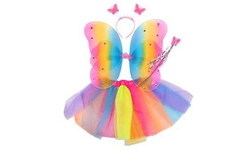 obrázek Kostým duhový motýl