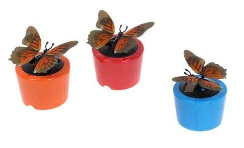 obrázok Solárny motýľ s 3D efektom