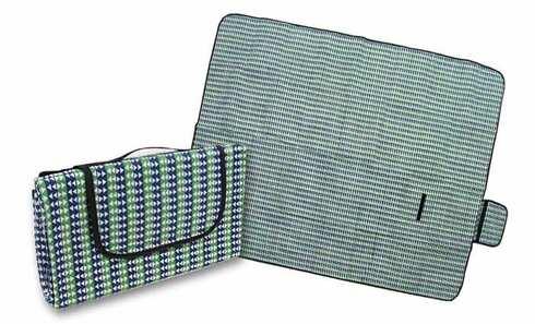 obrázek Pikniková deka zeleno modrá