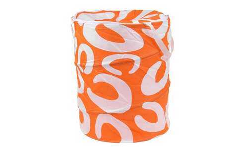 obrázek Koš na prádlo skládací oranžový