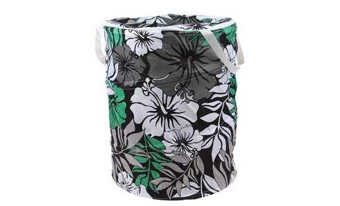 obrázek Koš na prádlo skládací zelený