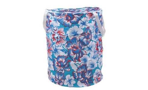 obrázek Koš na prádlo skládací modrý