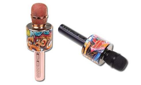 obrázok Magic karaoke mikrofón D998