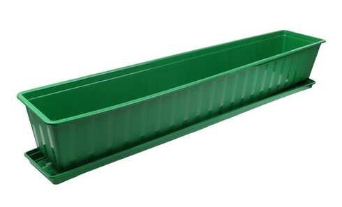 obrázek Truhlík s podmiskou zelený 100