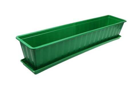 obrázek Truhlík s podmiskou zelený 80