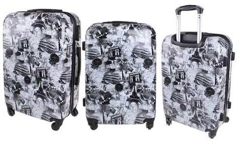 obrázek Sada 3 skořepinových kufrů (Triumphal)