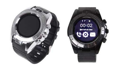 obrázok Chytré hodinky okrúhle smart