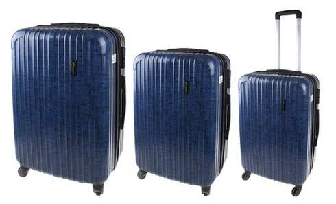 obrázek Prince sada 3 kufrů modrá