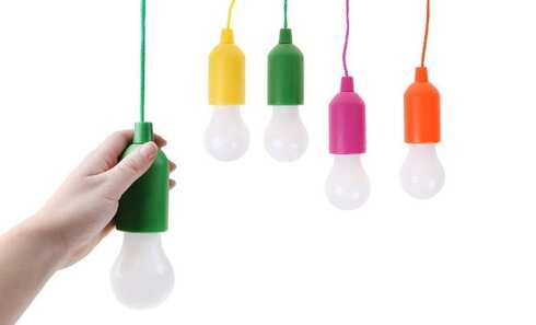 obrázek LED světlo Klik žárovka