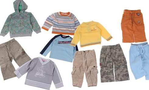 obrázek Balíček 10ks oblečení kluk vel. 86
