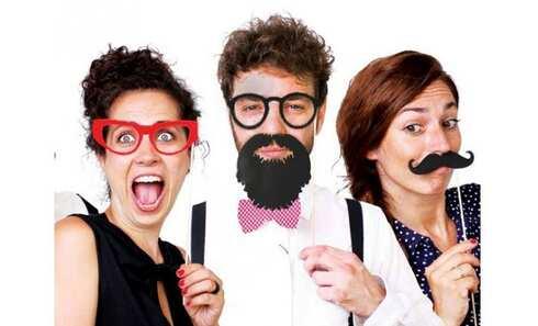 obrázek Rekvizity na Vtipné Focení 17 kusů
