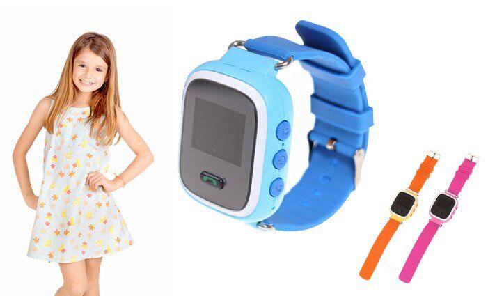 Dětské hodinky s GPS