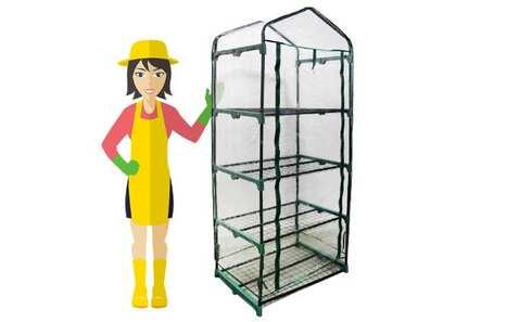obrázek Foliový skleník 4patrový