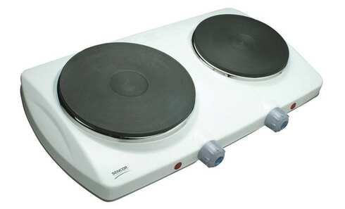 Dvouplotýnkový vařič Sencor SCP 2250WH