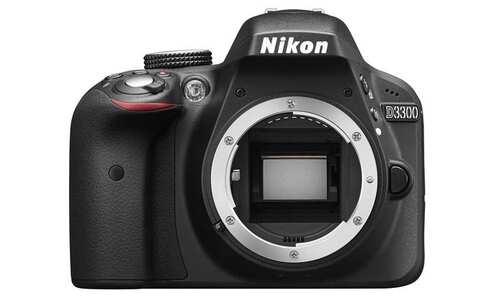 obrázek Zrcadlovka Nikon D3300 Black + AF-P 18-55 VR