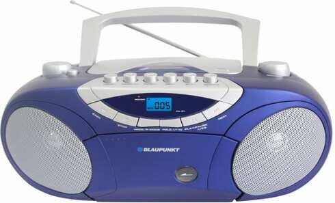 obrázek Rádio a CD přehrávač Blaupunkt BB15BL