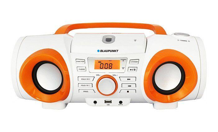 Rádio s CD přehrávačem a Bluetooth Blaupunkt BB20BT
