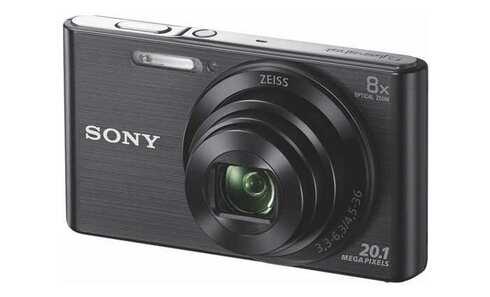 obrázek Fotoaparát Sony CyberShot DSC-W830 Black