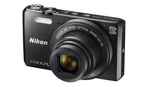 obrázek Nikon Coolpix S7000 černý