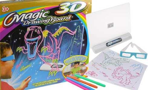 obrázok Magická kresliace 3D tabuľka