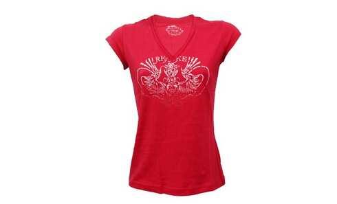 obrázek Dámské tričko - 8220/Red