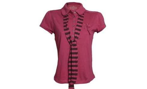 obrázek Dámské tričko - 8224/Purple Red