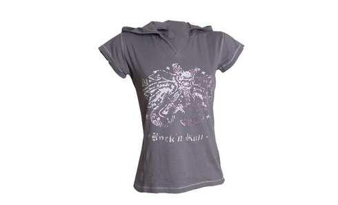 obrázek Dámské tričko - 8202/Grey