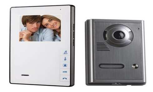 obrázek Barevný bezsluchátkový 4 dveřní videotelefon OPTEX 990263