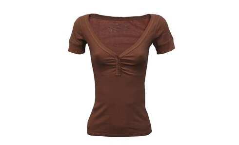 obrázok Dámska tričko - 8216/Coffee