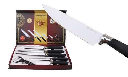 obrázek Sada 5ti nožů se škrabkou