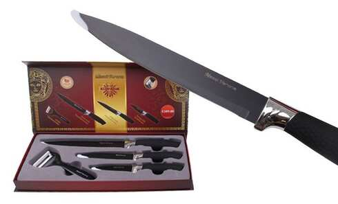 obrázek Sada 3 nožů se škrabkou