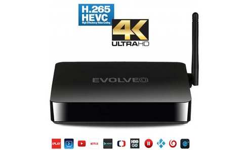 obrázek Multimediální centrum EVOLVEO Android Box Q5 4K, Quad Core Smart TV box