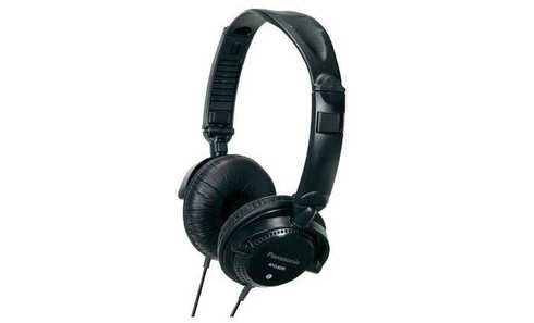 obrázok  Slúchadlá PANASONIC RP-DJS200E-K